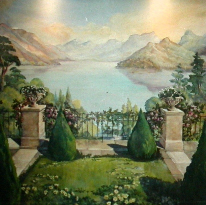 Philippe Metaireau - Lac  d'Annecy. Imaginaire.